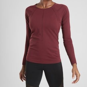 NWT Athleta Foothill Long Sleeve